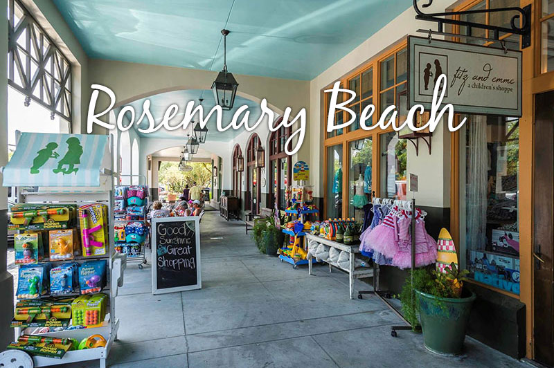 Rosemary Beach on 30A