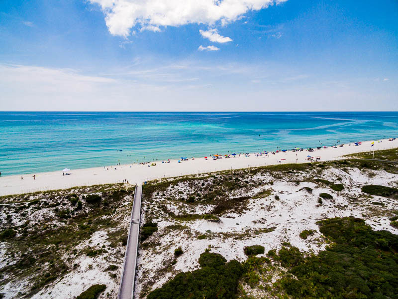One of our vacation properties in Inlet Beach, FL