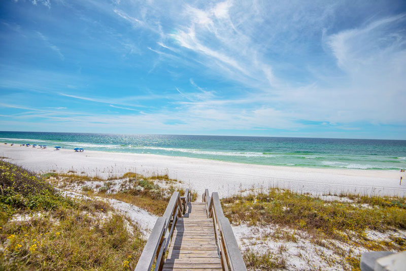 One of our vacation properties in Seagrove Beach, FL
