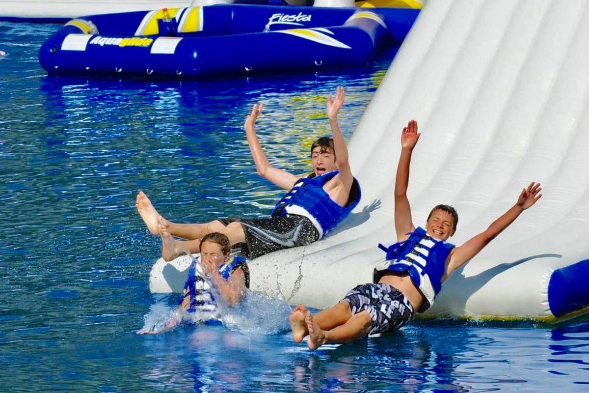 Adventure Tour with Inflatable Waterpark From Destiny Water Adventures near our vacation rentals