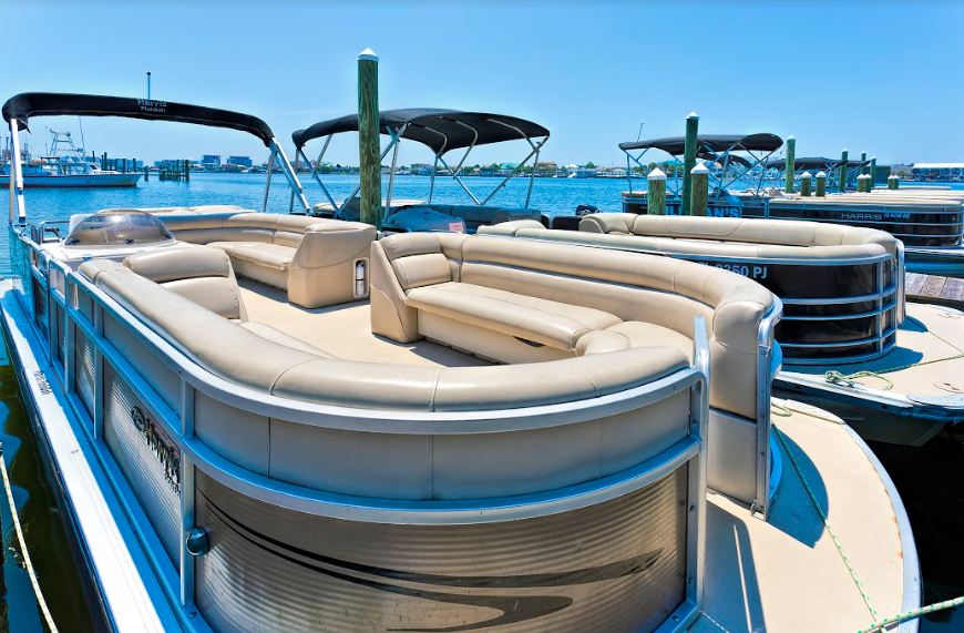 Destin X Pontoon Boat Rental – Departing From Destin Harbor near our vacation rentals