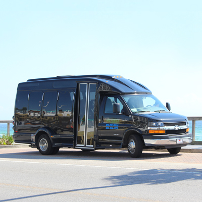 First Class Destin/Fort Walton Beach Airport Transfer near our vacation rentals