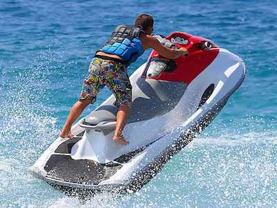 Hourly Jet Ski Rentals from Destiny Water Adventures near our vacation rentals