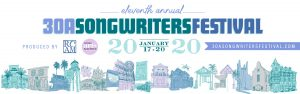 Eleventh Annual 30A Songwriter's Festival in South Walton, Florida.