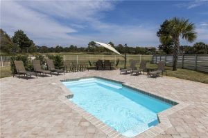 Rental homes with community swimming pool
