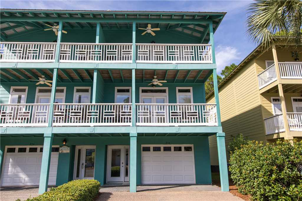 Vacation rental town homes in Dune Allen Beach with great balconies.