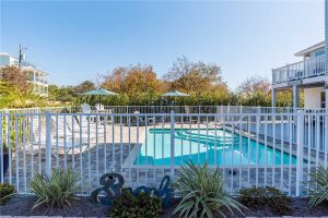 Find 30A house rentals with a pool.