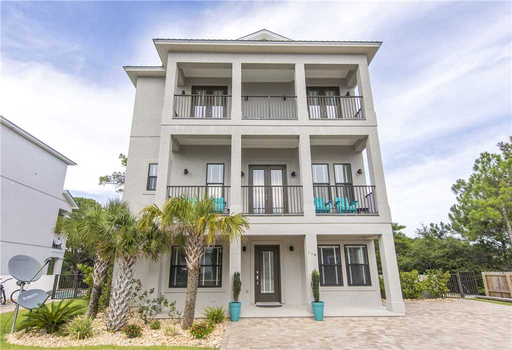 A 3 story luxury vacation rental home