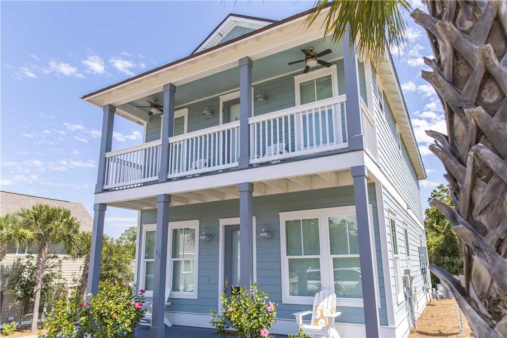 Adorable Dune Allen Beach vacation rental with coastal touches